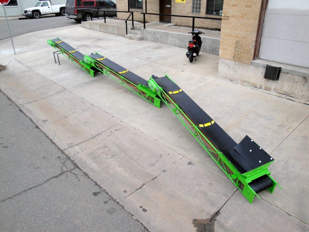 E-ZMITE Trough Conveyor