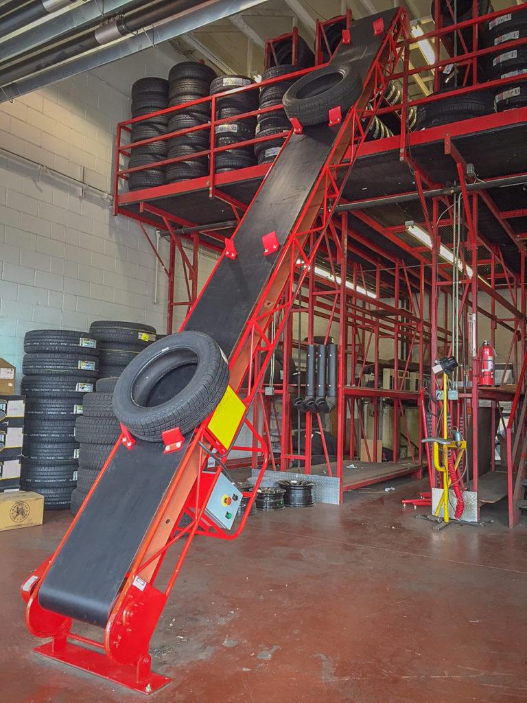 Tire Conveyor