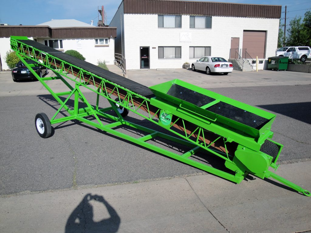 Towable Elevating Carriage - Troughing Slider Conveyor