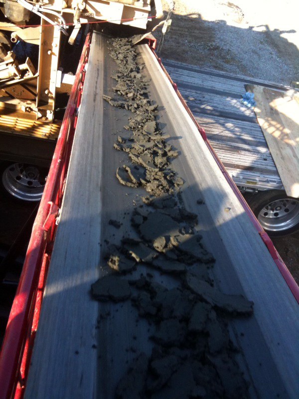 Troughing Roller Sludge Conveyor