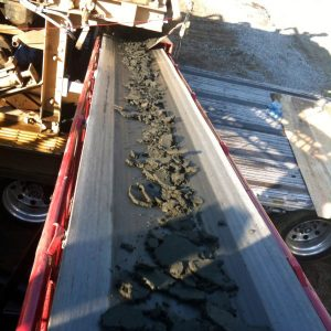 Troughing Roller Sludge Conveyor