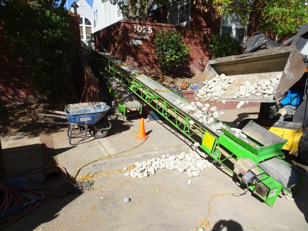 Troughing Slider Conveyor