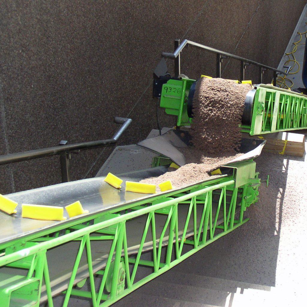 Troughing Slider Conveyors